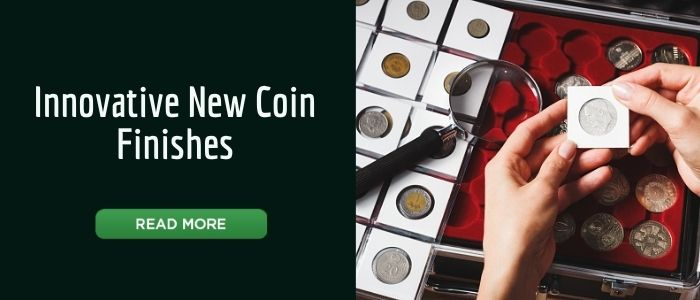 Innovative New Coin Finishes Banner