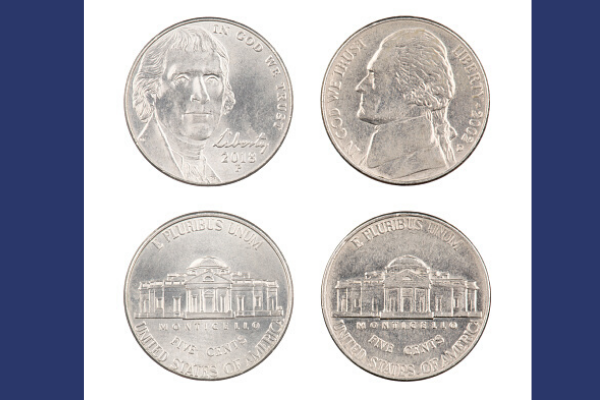Jefferson Nickel Designs
