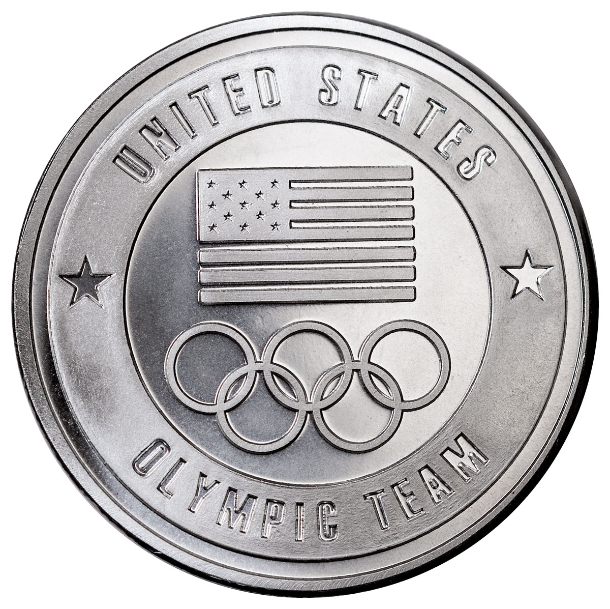 USA Olympic Team 1 oz. Silver Round