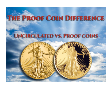The Proof Coin Diffeence- Uncirculated VS. Proof Coins