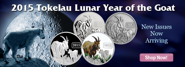 Shop Year of the Goat Coins.