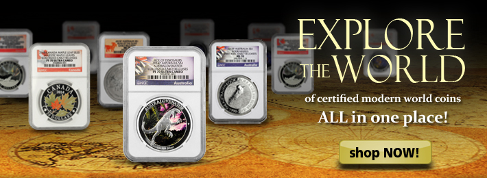 Buy Recent Graded World Coins Now!