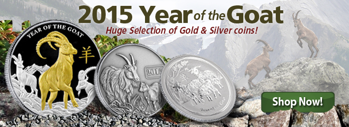Order your 2015 Year of the Goat coins NOW!