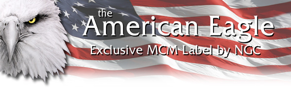 American Eagle with Exclusive MCM Label